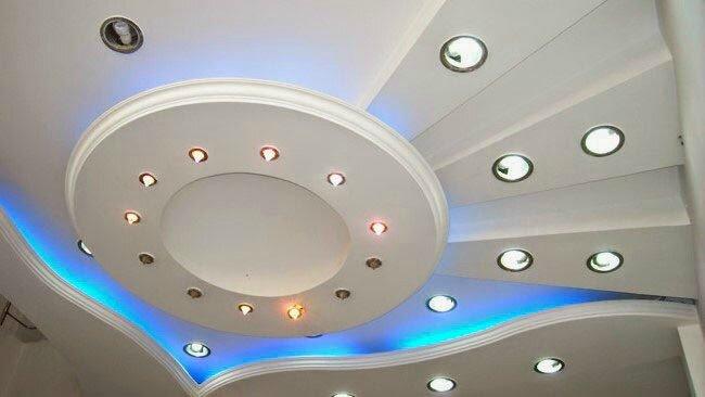 Plafond platre deco - Decoration plafond ...