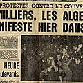 17 octobre 1961 : notre honneur s'appelle fidélité