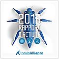 Incuballiance • rapport d'activité 2016