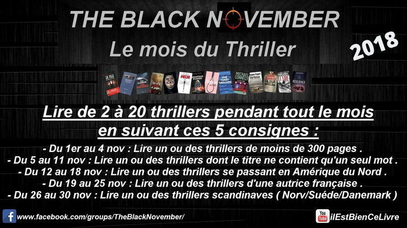 black november 2018 consignes