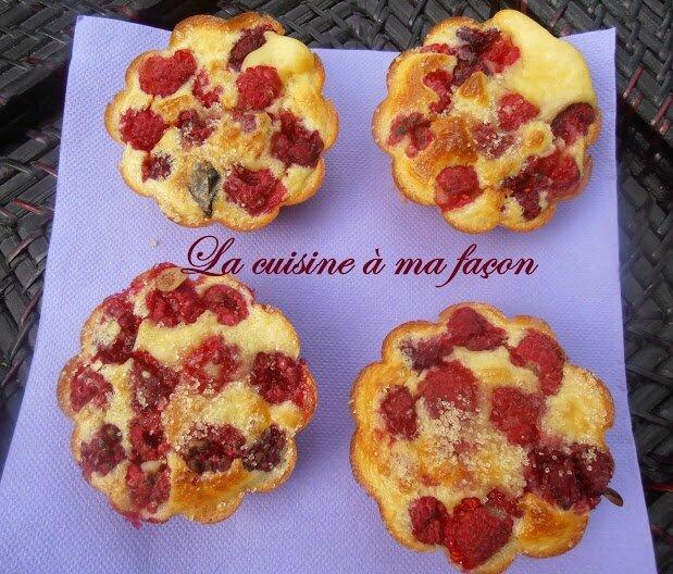 gâteaux framboises 3