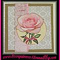 Carte 3d rose