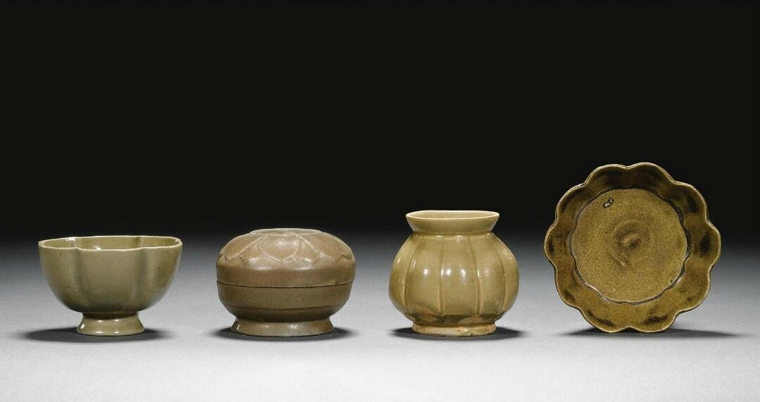 A group of 'Yue' wares, Tang dynasty (618-907)