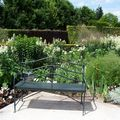 BANC BOUQUET BLANC GIVERNY