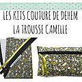 Les kits de couture : trousse en liberty