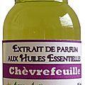 Extrait de parfum chèvrefeuille - perfume extract honeysuckle