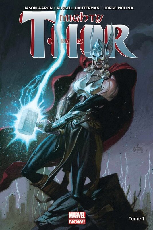 marvel now mighty thor 1 la déesse du tonnerre