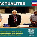 Milosevic innocenté par le tribunal pénal international pour l'ex-yougoslavie: les médias silencieux
