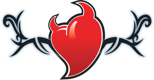 tribal-devil-heart-temporary-tattoo