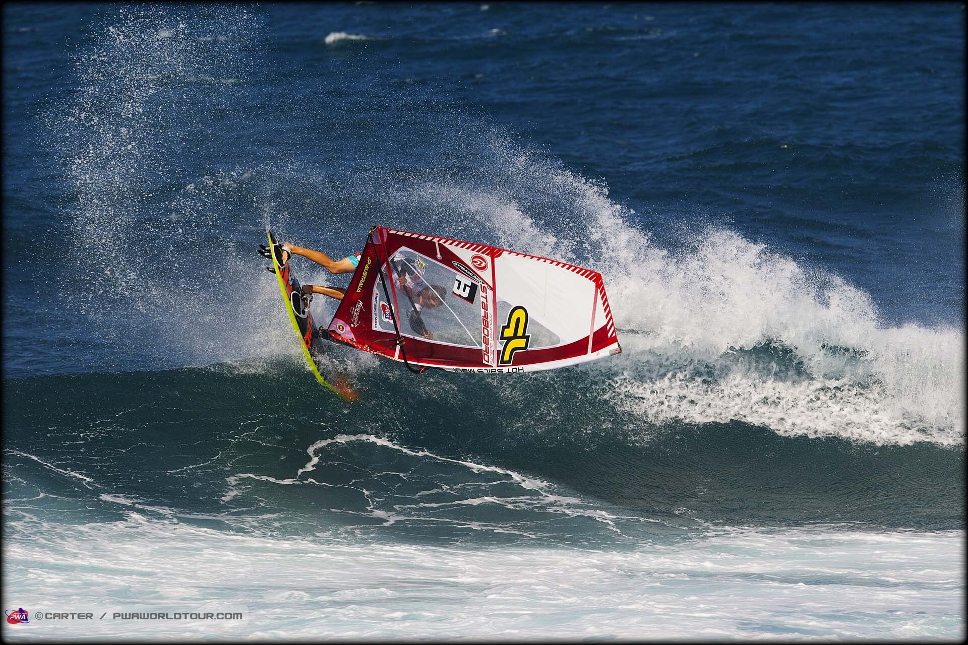 AIR TAKA / GOITER / 360° AIR WINDSURF !...