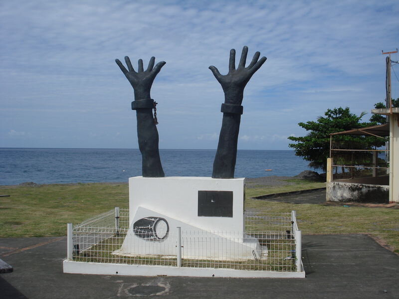 Monument de la Libération des Noirs Esclaves en Martinique le 22 MAi 1842
