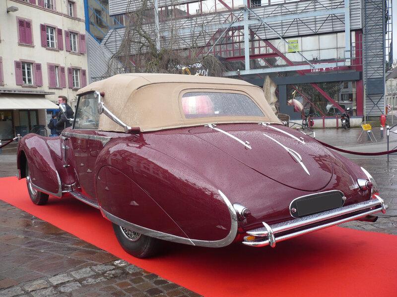 DELAHAYE 135 M cabriolet Milord carrossée par Figoni Falaschi 1948 Montbéliard (2)