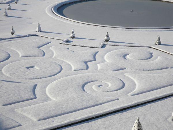 Versailles, hiver 2010