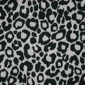 Jersey leopard noir/blanc pour marcel, dos nu, top noué, débarde