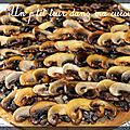 P'tite tarte feuilletée aux champignons de paris