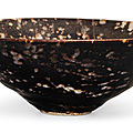 A 'Jizhou' 'Tortoiseshell' bowl, Song dynasty (960–1279)