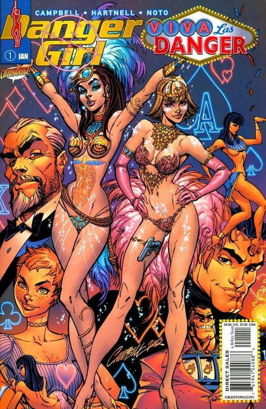 wildstorm danger girl viva las danger