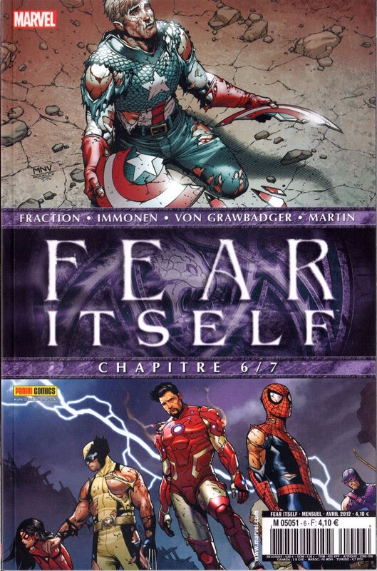 Panini Marvel Fear itself
