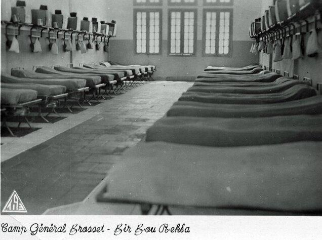 Chambre troupe - Camp général Brosset