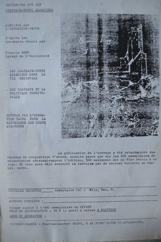 rempart avant rempart L'archéologie de la taupe, éducation populaire,1968
