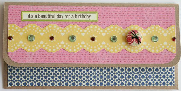 It's a beautiful day for a birthday card 001