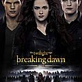 Affiche internationale twilight: breaking dawn