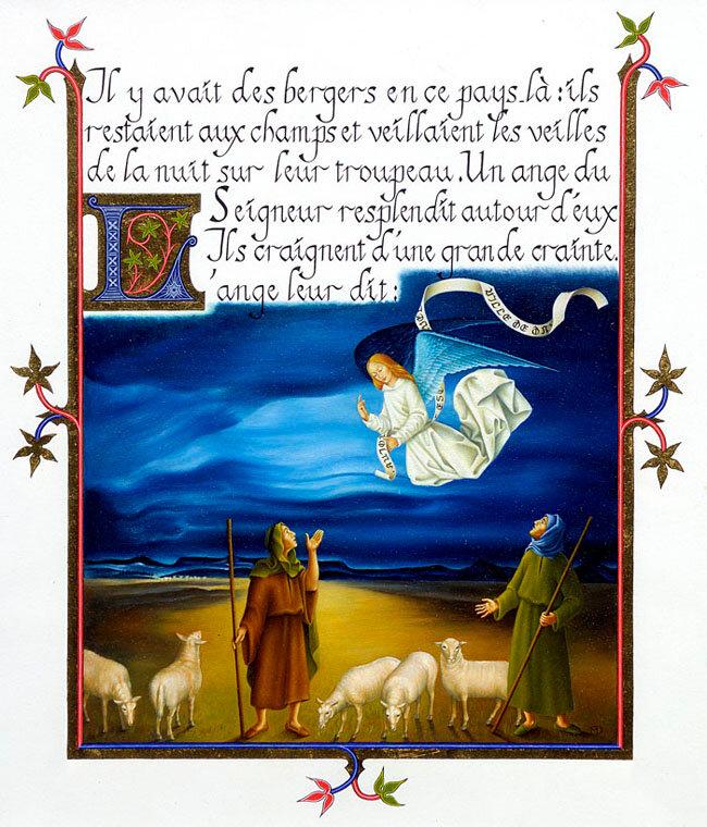 Luc 2, les bergers, Didier Michault