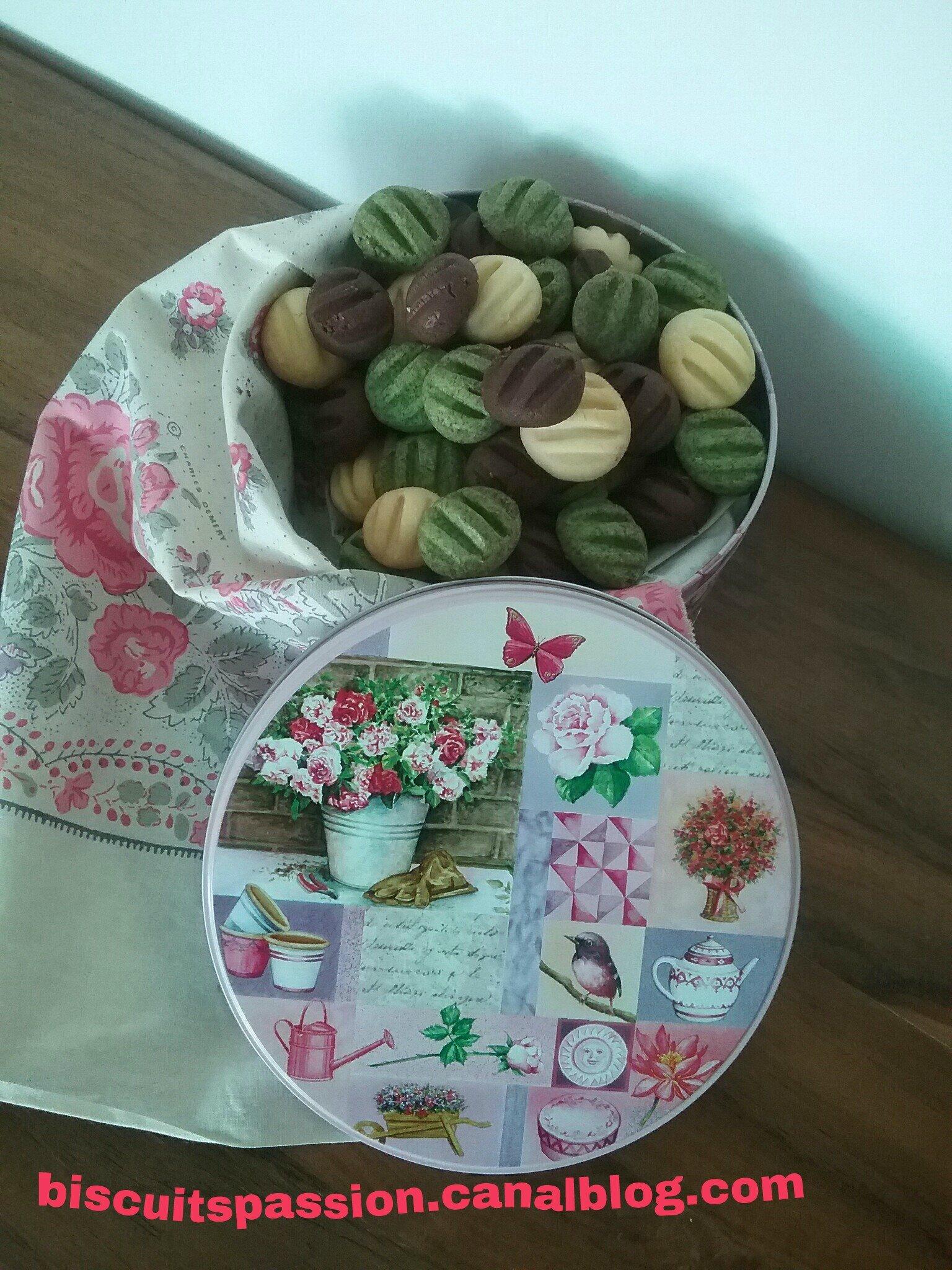 Petits biscuits ultra fondants