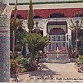 Une diffa chez le pacha de marrakech il y a 70 ans (mai 1948)