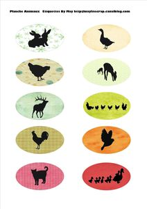 Planche animaux