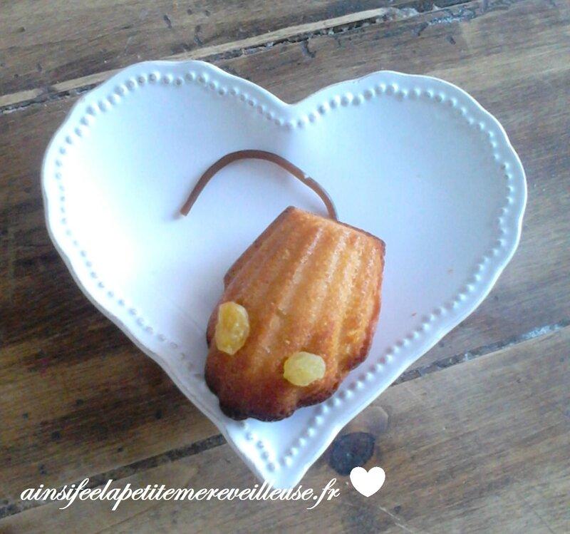 petite souris madeleine