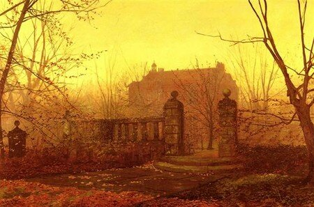 Grimshaw__Knostrop_Hall__Early_Morning