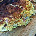 Omelette facon raclette