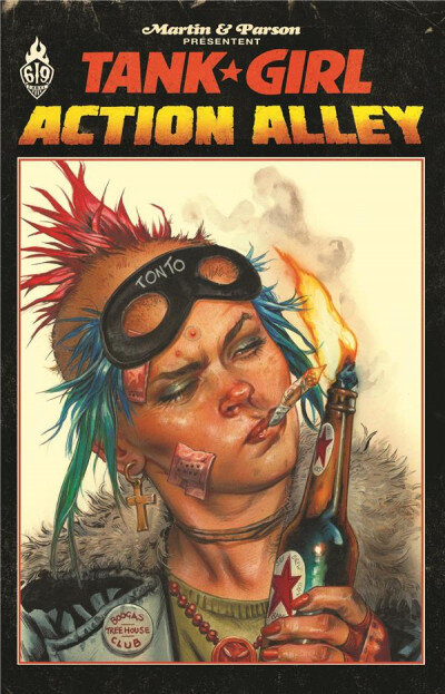 ankama tank girl action alley