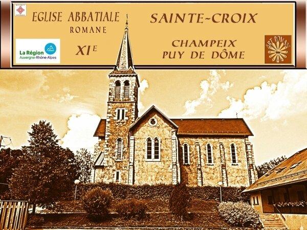 portail église romane champeix