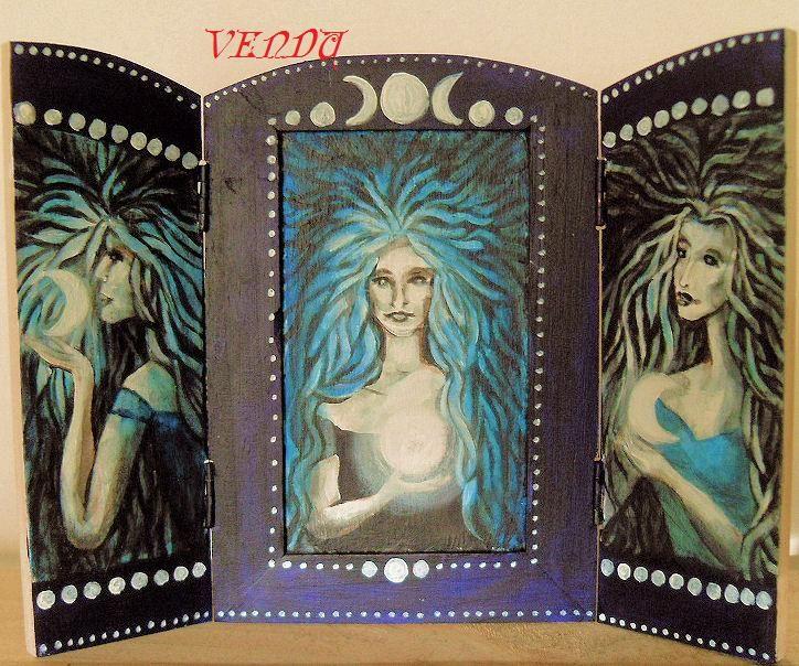 Triptyque Triple Lune VENDU