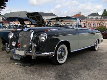 MERCEDES BENZ 220 S Ponton Cabriolet 1958 Classic Gala de Schwetzingen 2009 1