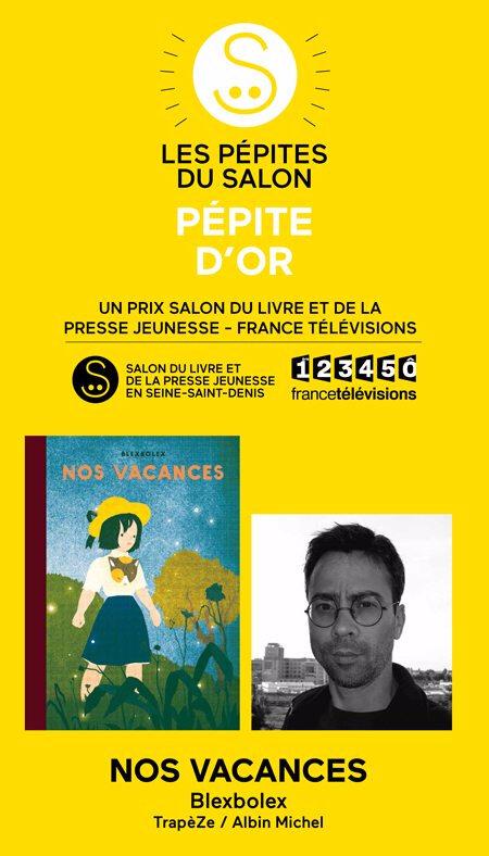 Pépites du Salon du livre et de la Presse Jeunesse de Montreuil