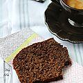 Cake à la banane et au chocolat noir