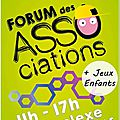Forum des associations 6 sept. 2015