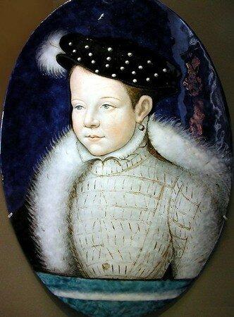 François II par Léonard Limousin (musée du Louvre)