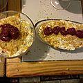 Verrine framboises et mascarpone