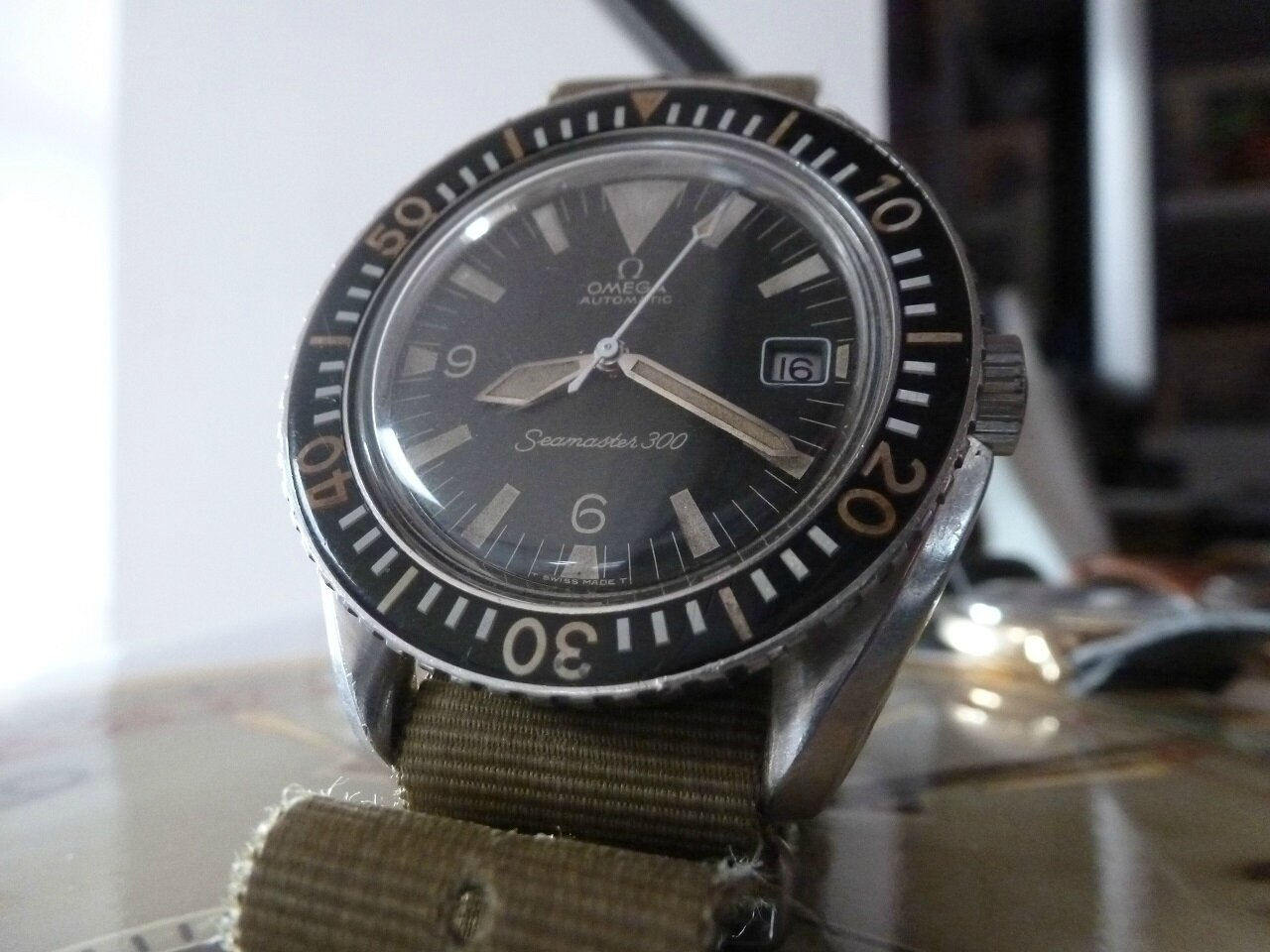Seamaster 300 166024 BIG TRIANGLE 1967 d'origine !!!