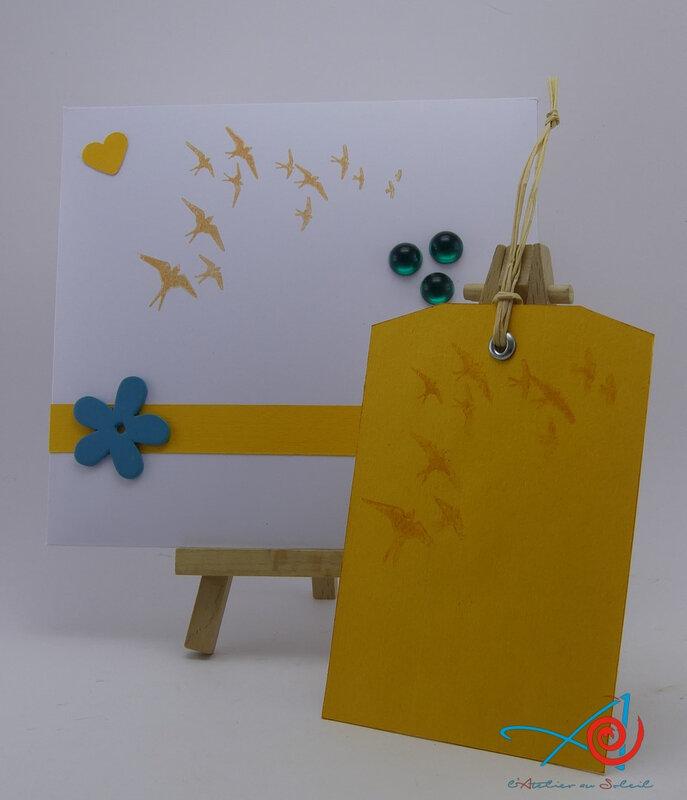 Enveloppe décorée - Decorated envelope