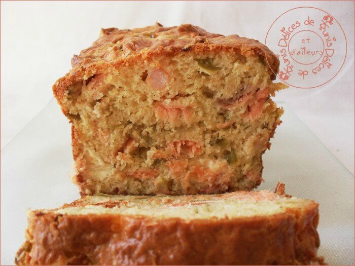 cake saumon - crevettes 2