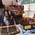 5 ans de louis - Bateau de Pirate + gateau au chocolat
