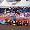 School reopening:over 500 inmates' children receive kits