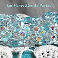 Bracelet Crystal Blue 5