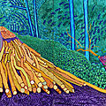 Exhibition demonstrates the influence of vincent van gogh on david hockney's work