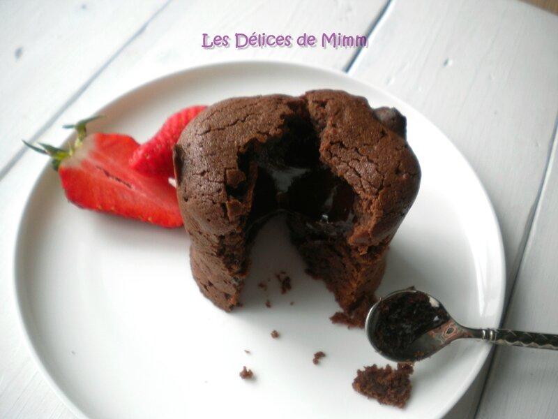 Coulant au chocolat Valrhona 2